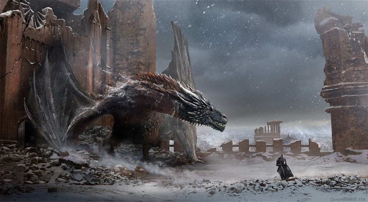 "Concept Art aus Staffel 8 von ""Game of Thrones"""