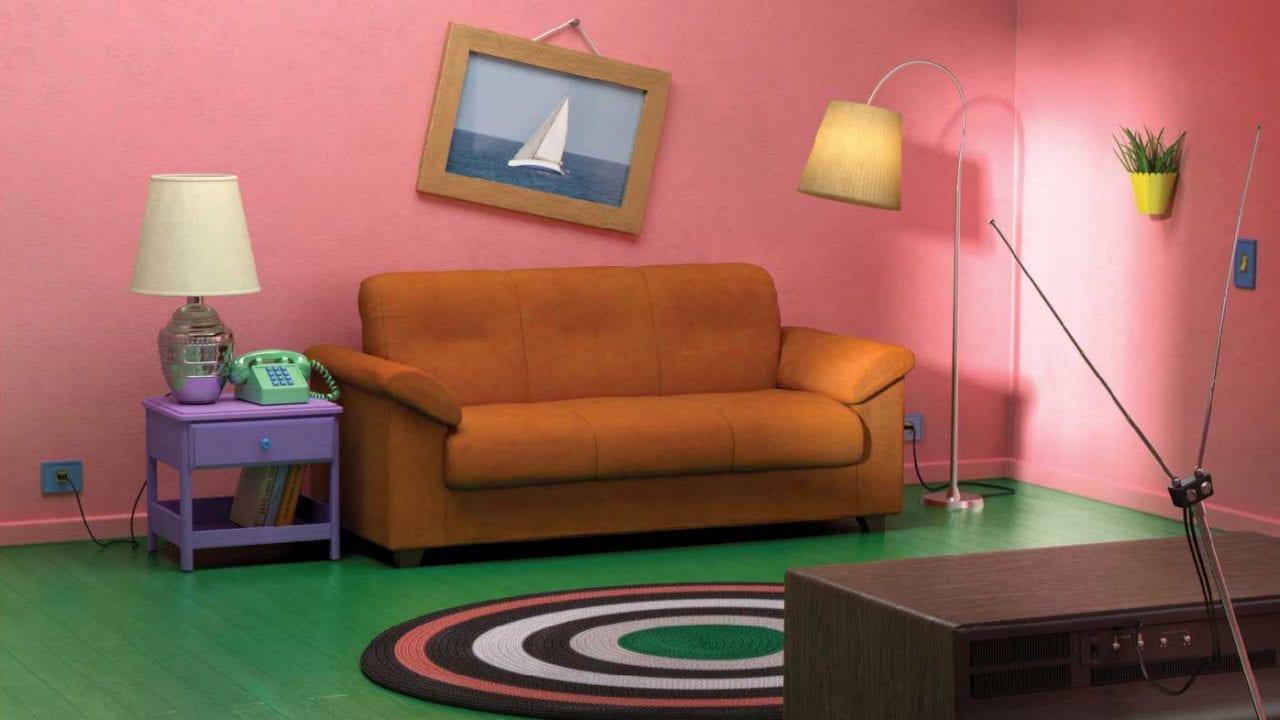 """IKEA hat Wohnzimmer aus """"The Simpsons"""", """"Friends"""" und """"Stranger Things"""" nachgebaut"""