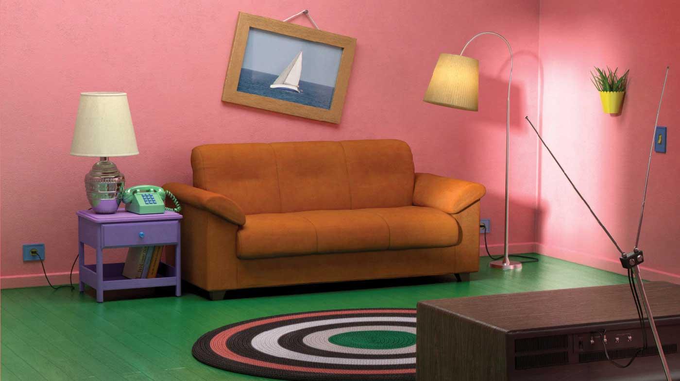 """IKEA hat Wohnzimmer aus """"The Simpsons"""", """"Friends"""" und ..."""