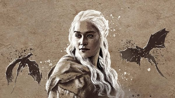 """Tolle """"Game of Thrones""""-Zeichnungen von John Paul Xavier"""