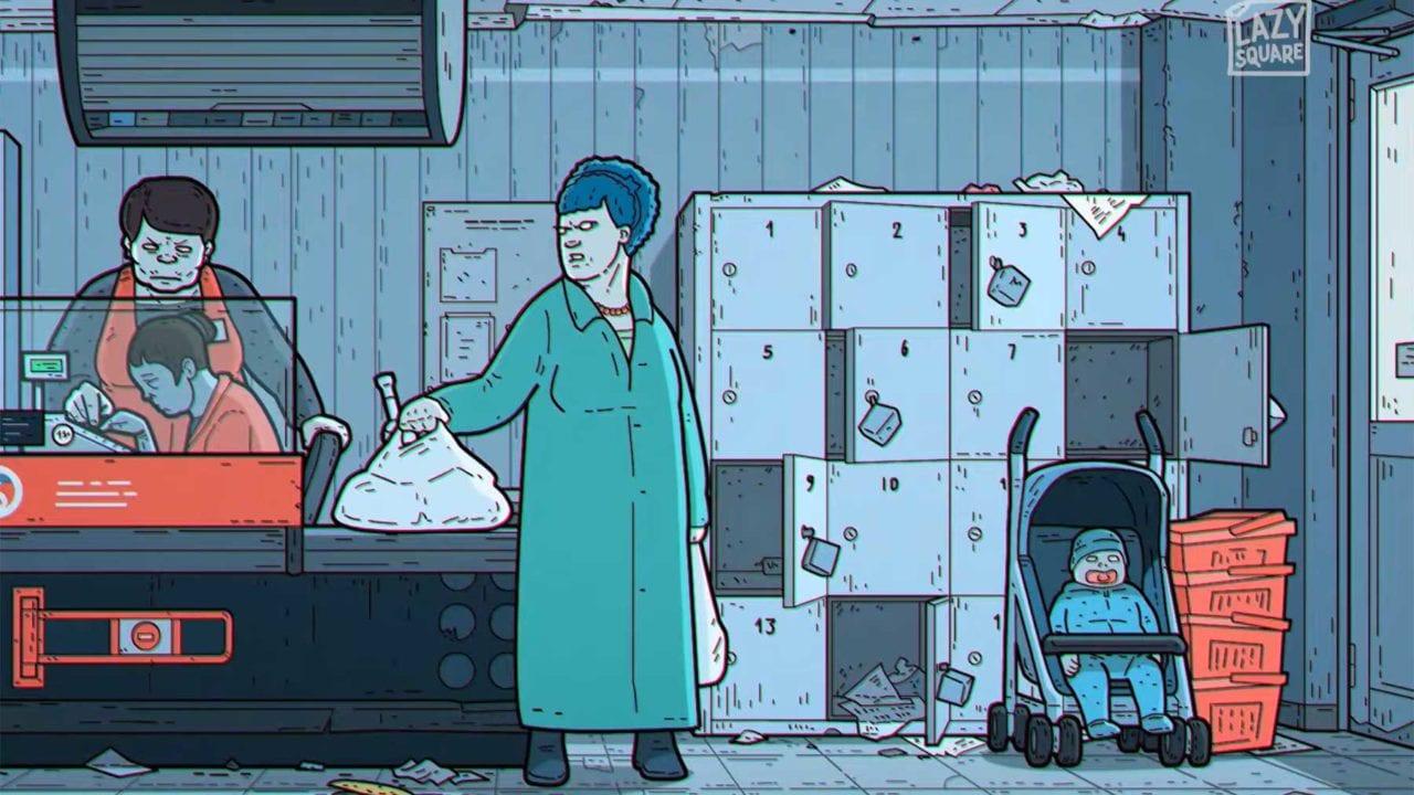 """Die Simpsons"" als russischer Kunstfilm"