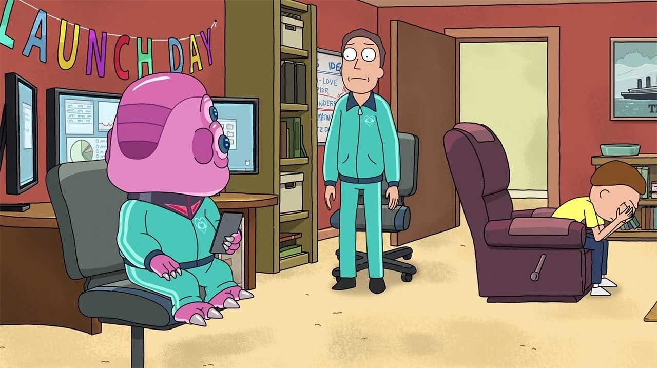 "Erste Szene aus der 4. Staffel ""Rick and Morty"""