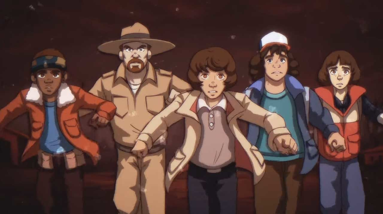 """""""Stranger Things"""" als 80er-Jahre-Anime-Serie"""