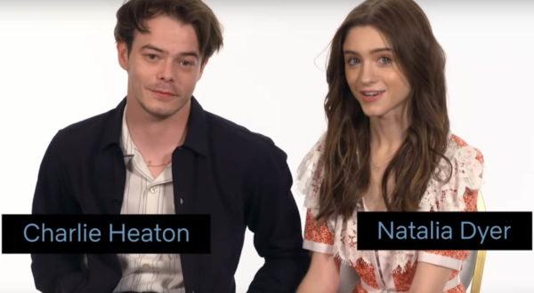 Stranger Things 'Nancy' und 'Jonathan' erklären Szene