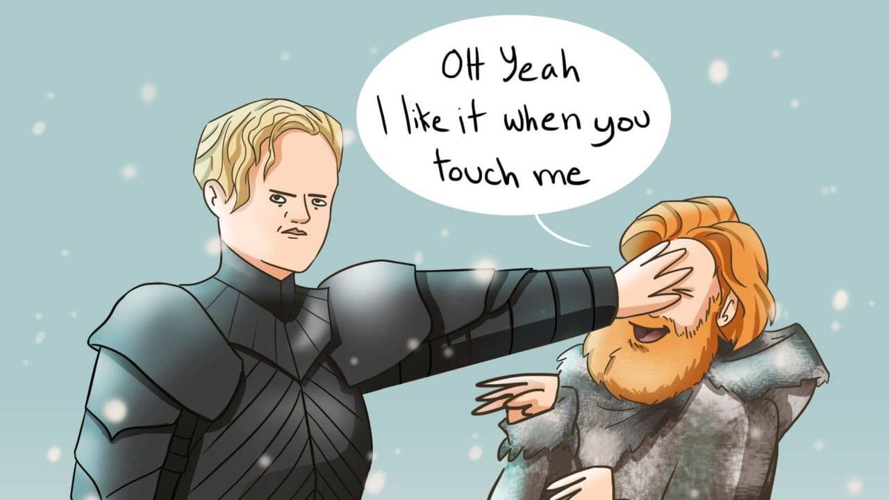 """Diese Webcomics führen uns hinter die lustigen """"Game of Thrones""""-Kulissen"""