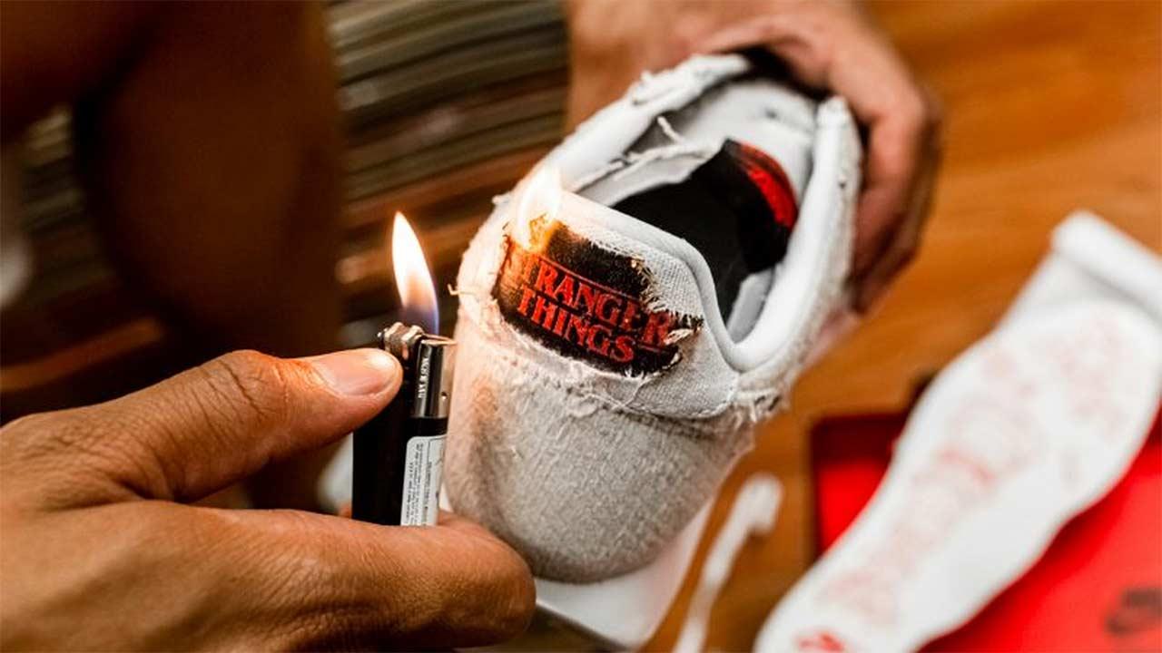"Coole neue ""Stranger Things""-Sneaker von Nike"