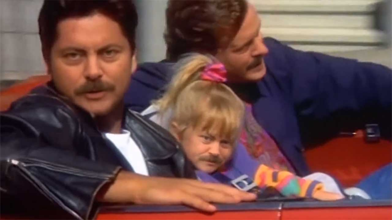 "Nick Offerman in ""Full House"""