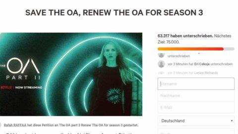 "Netflix setzt ""The OA"" ab – Fans kämpfen"