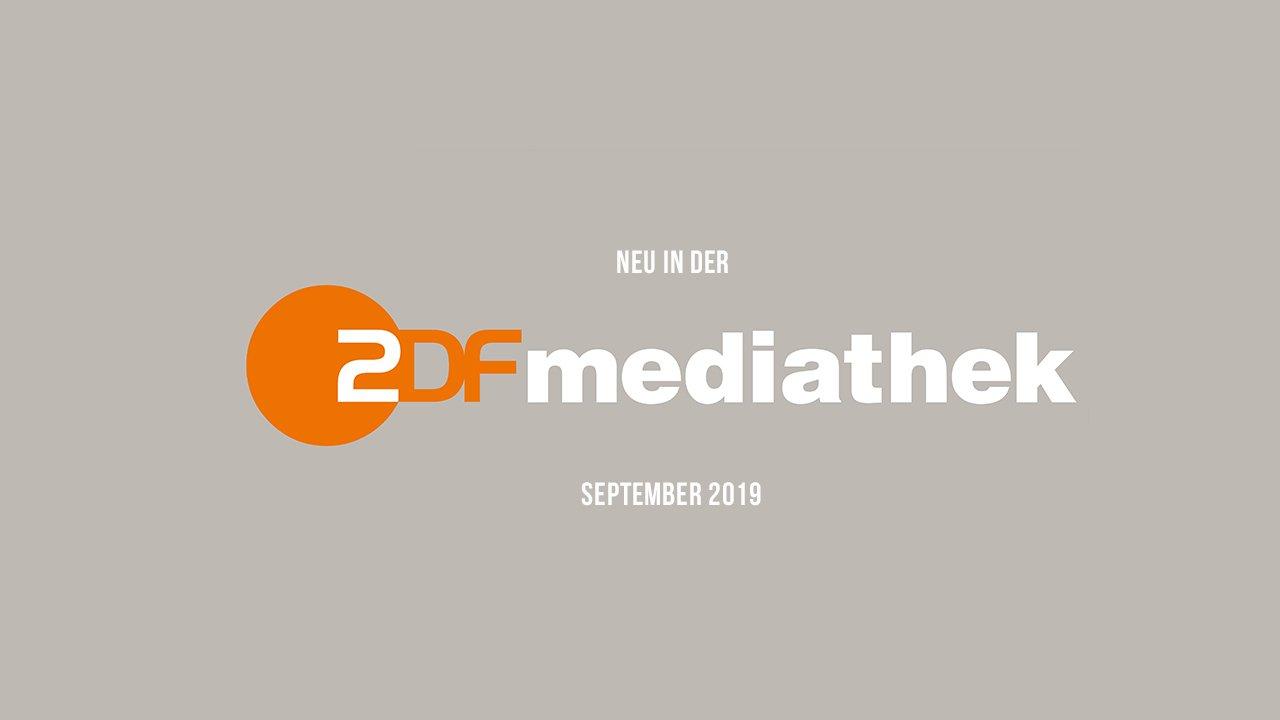 ZDFmediathek: Die neuen Serien(-Staffeln) im September 2019