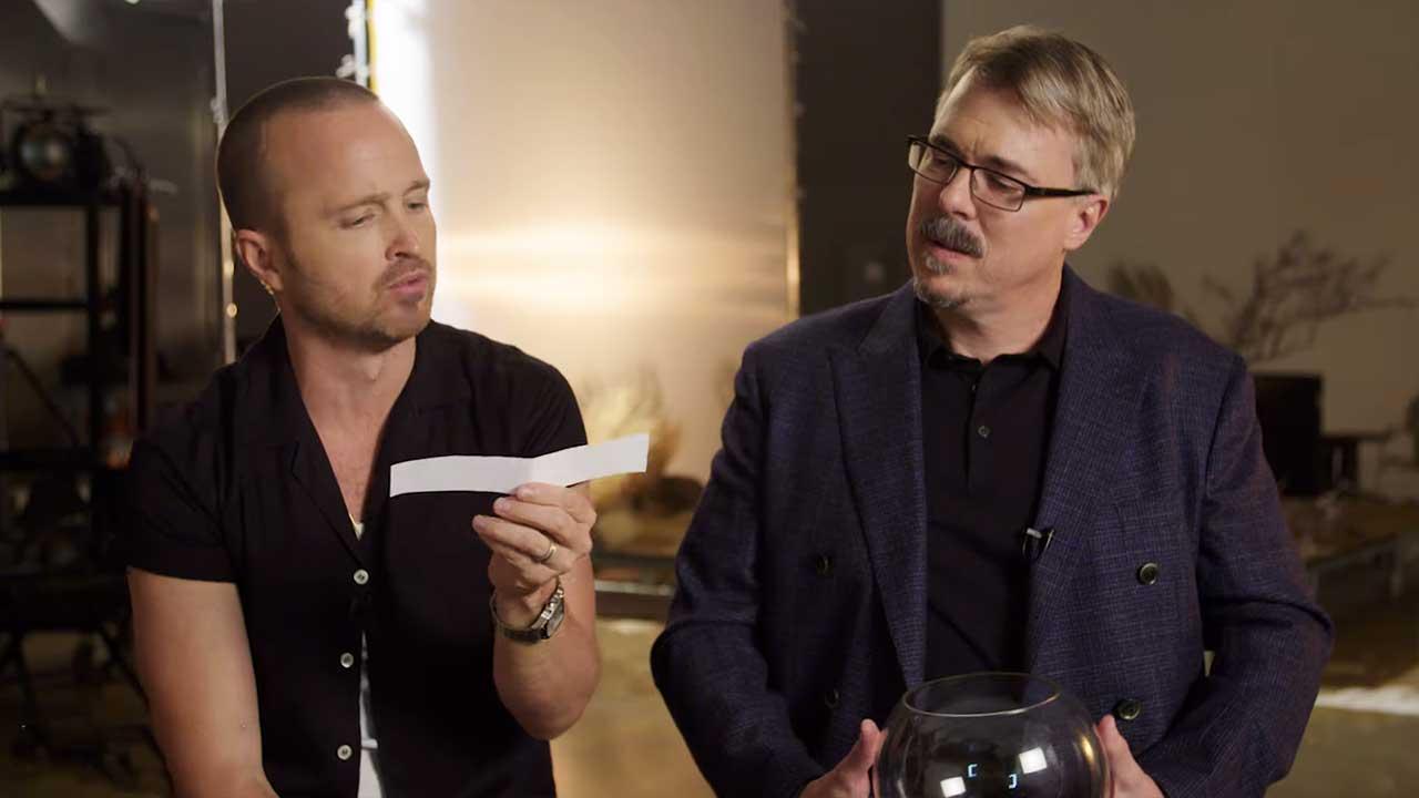 """Vince Gilligan & Aaron Paul beantworten Fragen zu """"El Camino"""""""