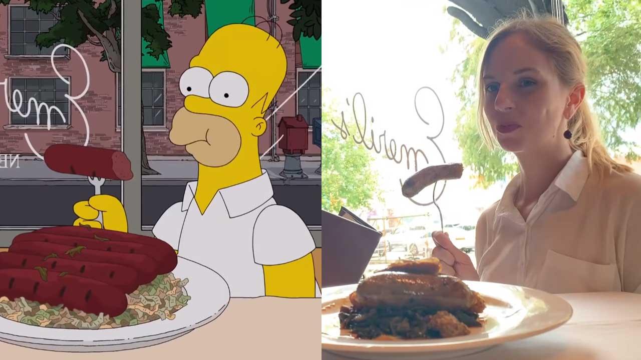 Touristinnen haben Simpsons-Szenen 1:1 nachgestellt