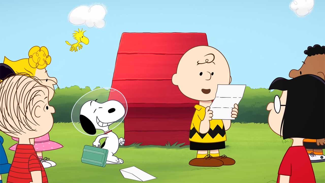 """Neuer Trailer zur neuen """"Peanuts""""-Serie """"Snoopy in Space"""" auf Apple TV+"""