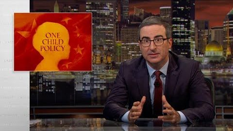 Last Week Tonight with John Oliver: One Child Policy