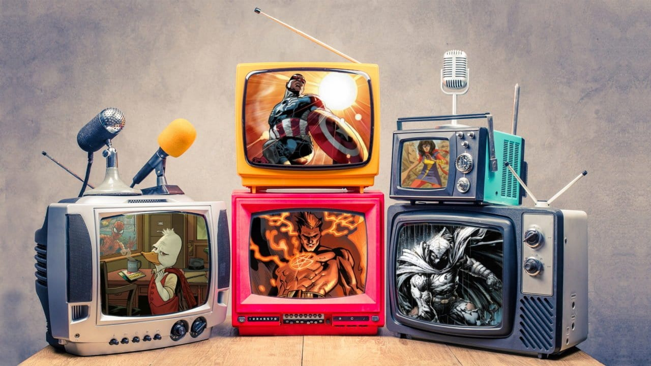 AWESOME 5: Neue Marvel-Serien