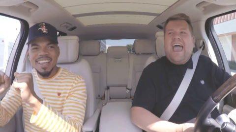 Carpool Karaoke mit Chance the Rapper