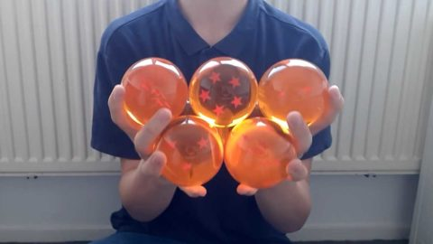 Contact Juggling mit den Dragon Balls
