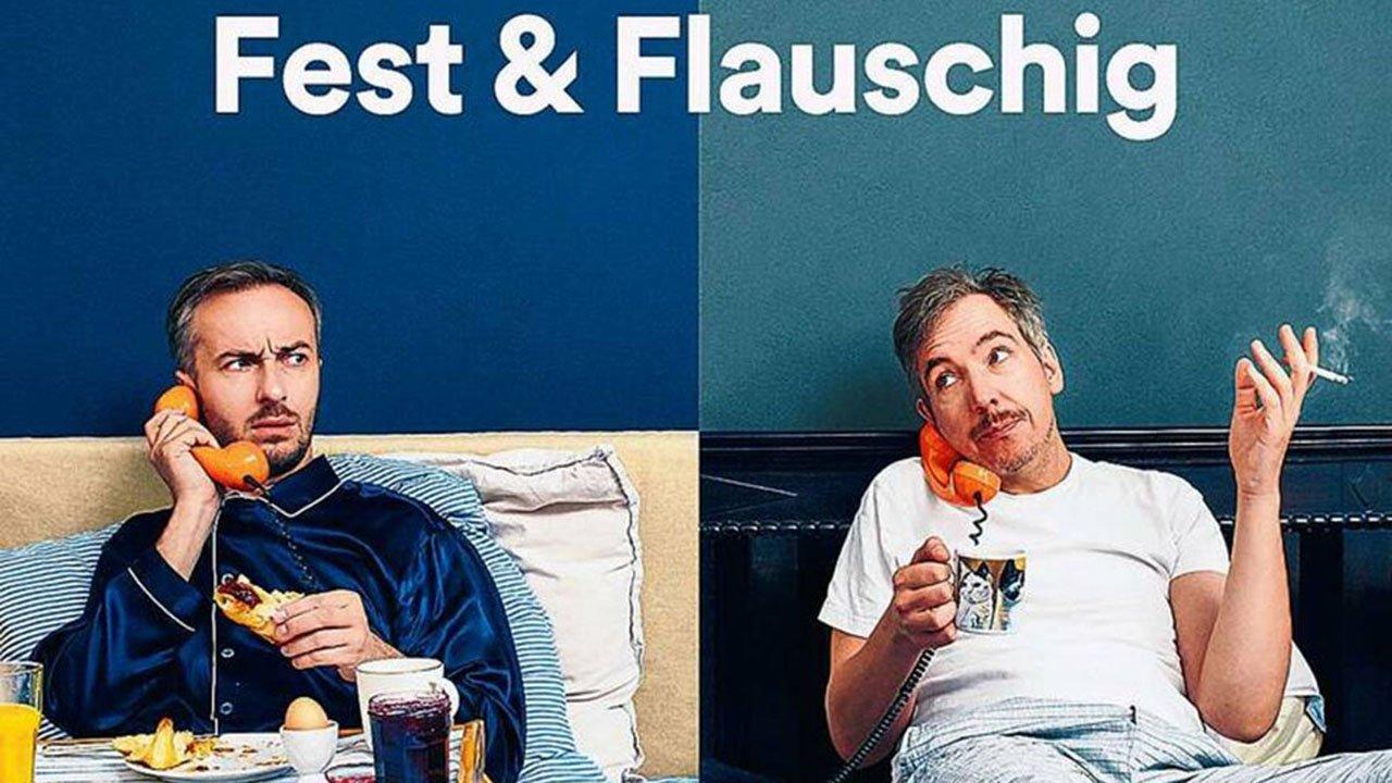 Fest & Flauschig mit Böhmermann und Schulz: Podcast täglich bei Spotify