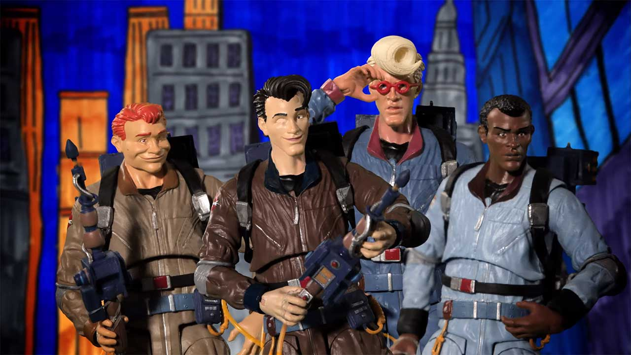 The Real Ghostbusters: Stopmotion-Nachbildung des Cartoon-Intros