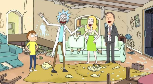 "15 improvisierte Szenen in ""Rick and Morty"""