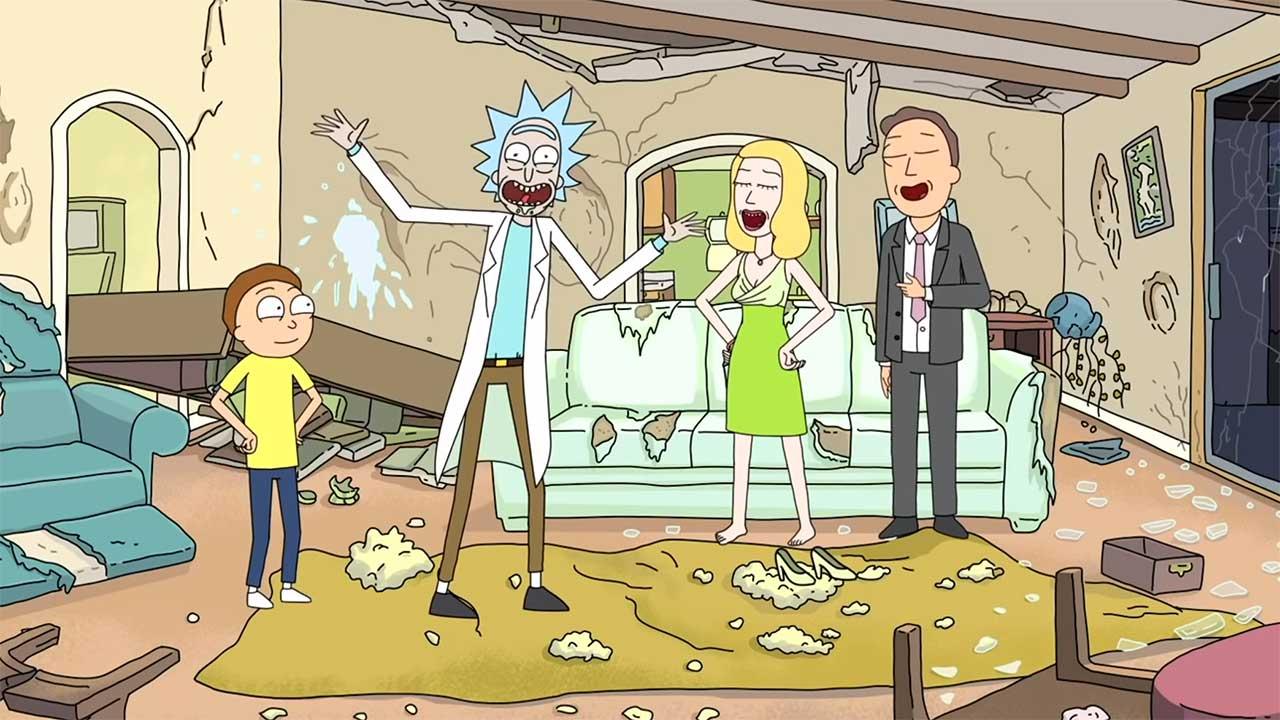 """15 improvisierte Szenen in """"Rick and Morty"""""""