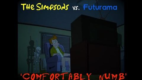 The Simpsons/Futurama vs. Pink Floyd – 'Comfortably Numb'