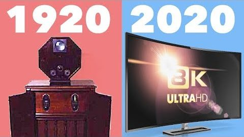 Evolution of Television 1920-2020