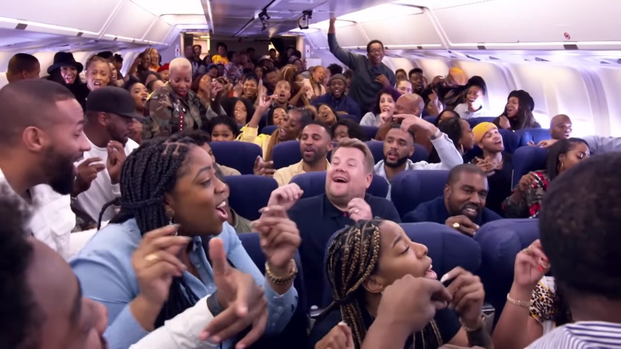 Airpool Karaoke mit Kanye West