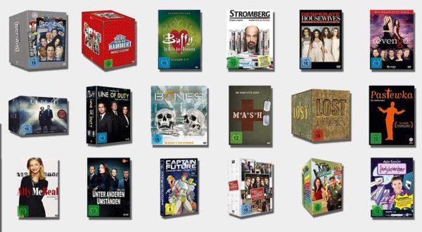 Reduzierte TV-Serien-Boxen zur Black-Friday-Woche
