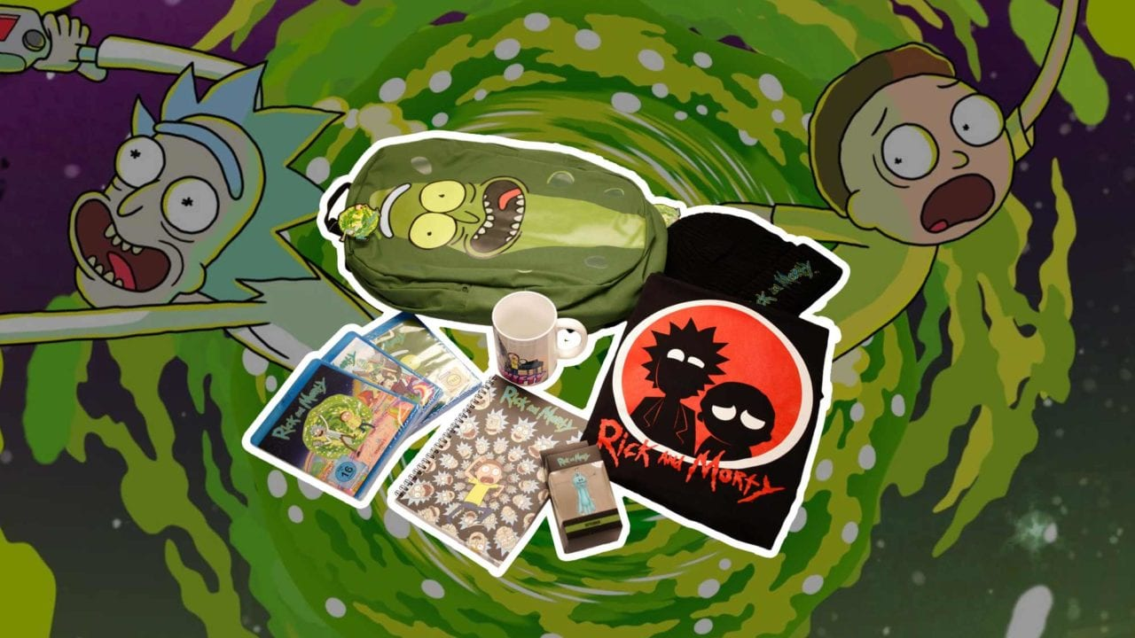 "Gewinnt ein AWESOMES ""Rick and Morty""-Fanpaket!"