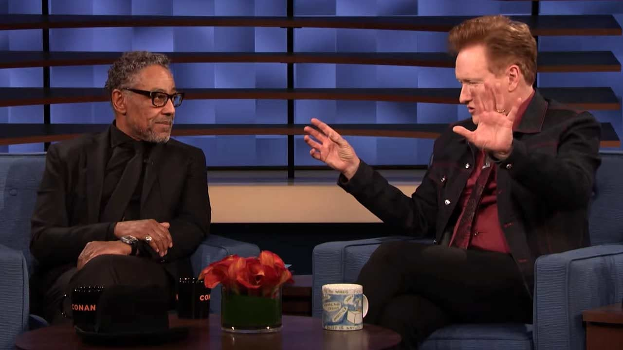 "Giancarlo Esposito spricht bei Conan über seine Rolle in ""The Mandalorian"""