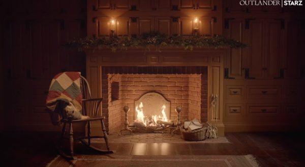 Outlander: Weihnachtliches Fraser-Kaminfeuer als einstündiges Video