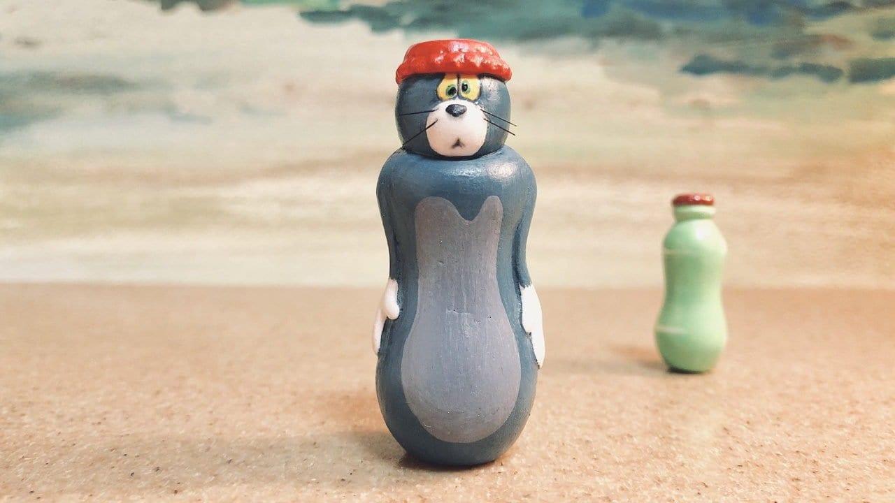 """Witzige Kunstfiguren zu """"Tom und Jerry"""""""
