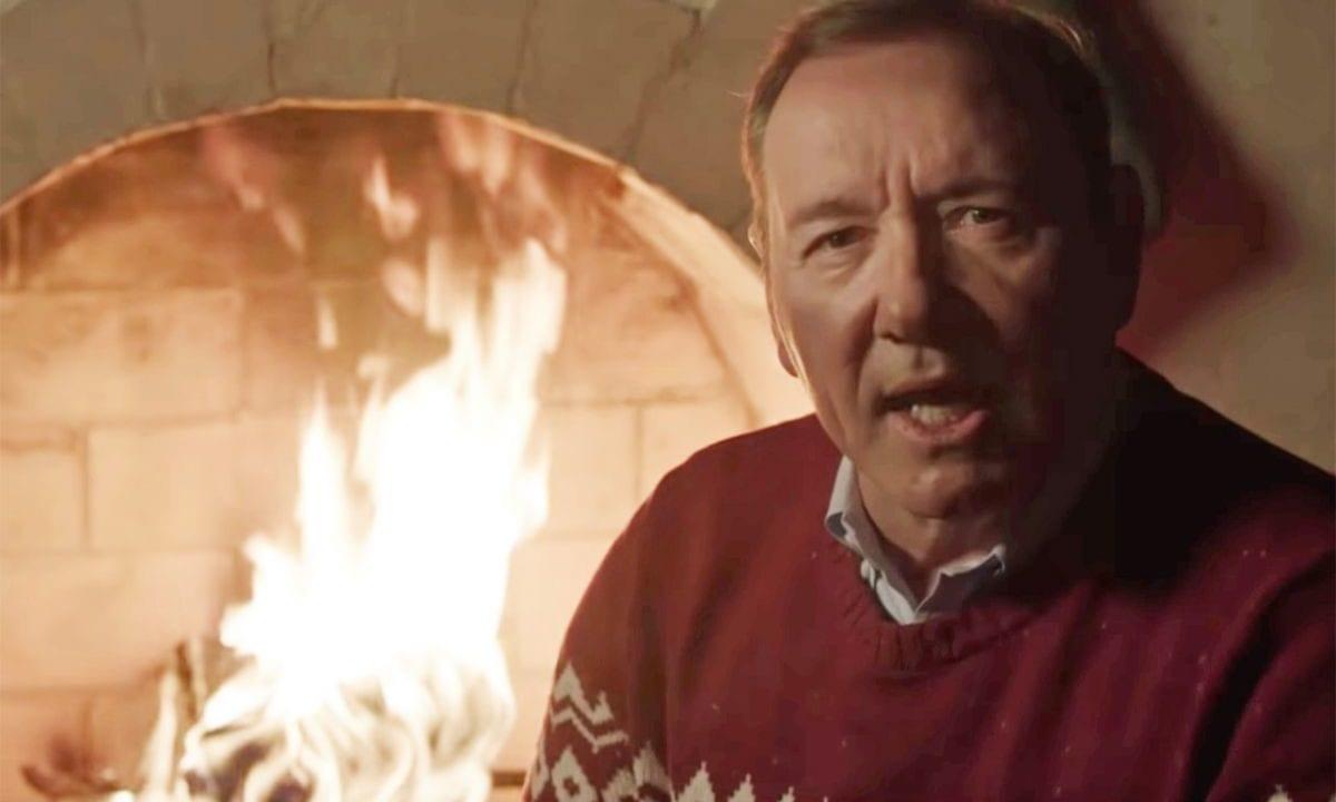 Kevin Spacey wünscht mal wieder Merry Christmas