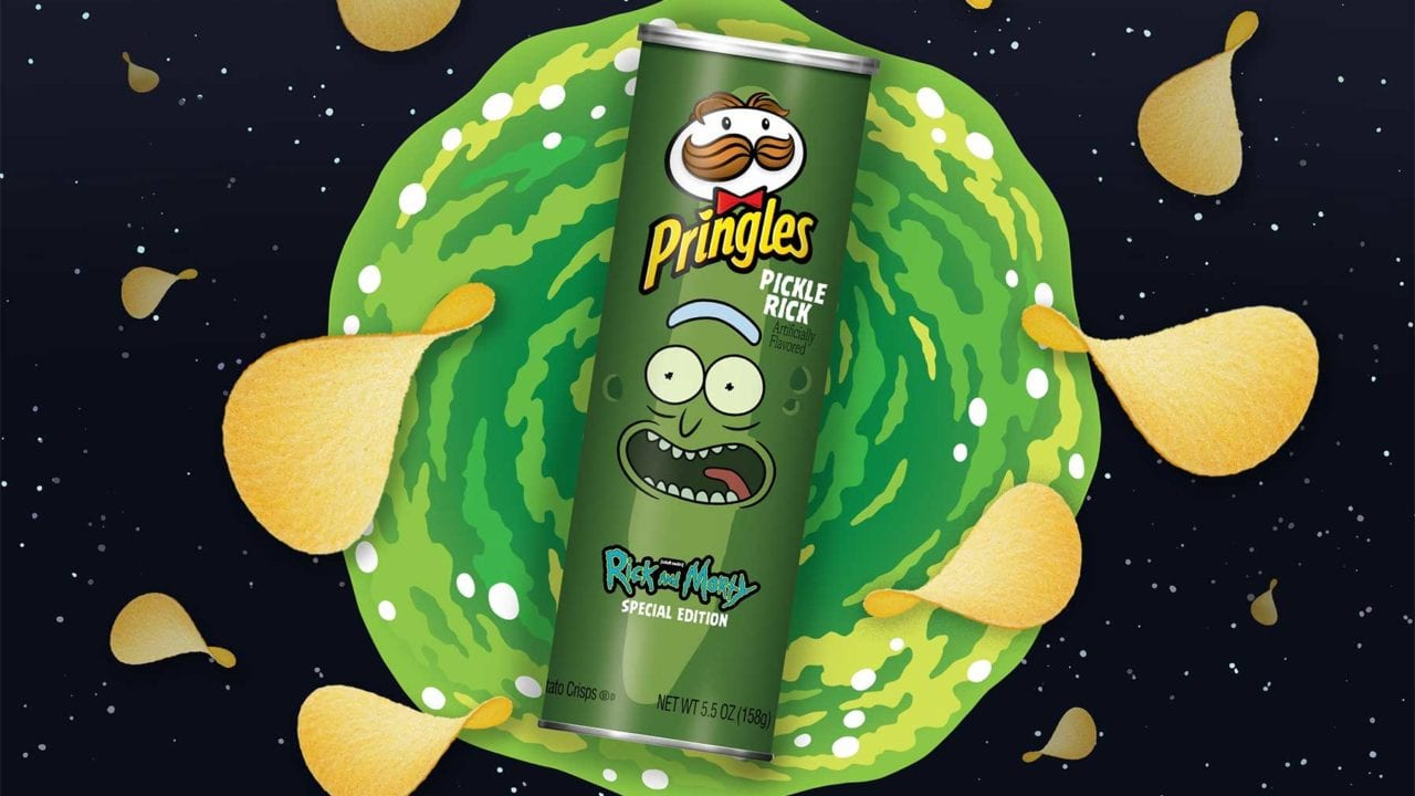 """Rick and Morty""-Chips: Pringles-Sonderedition zum Super Bowl 2020"