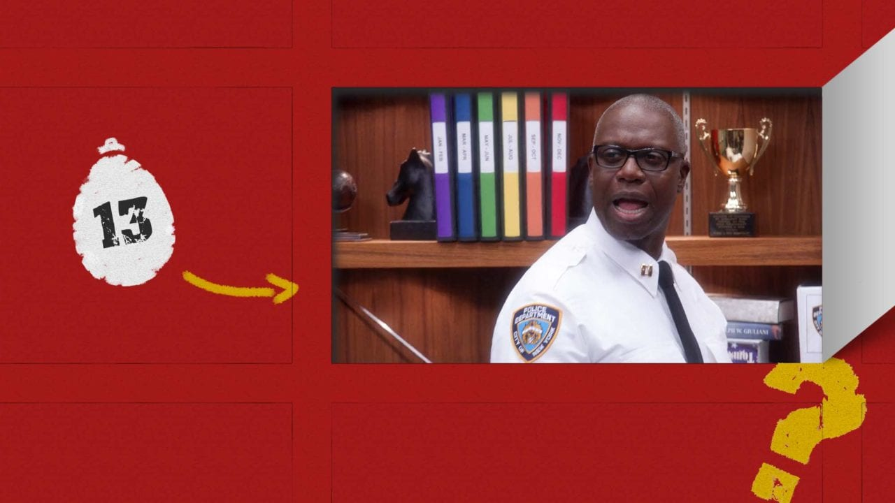 "sAWEntskalender 2019 – Tür 13: die besten Easter Eggs in ""Brooklyn Nine-Nine"""