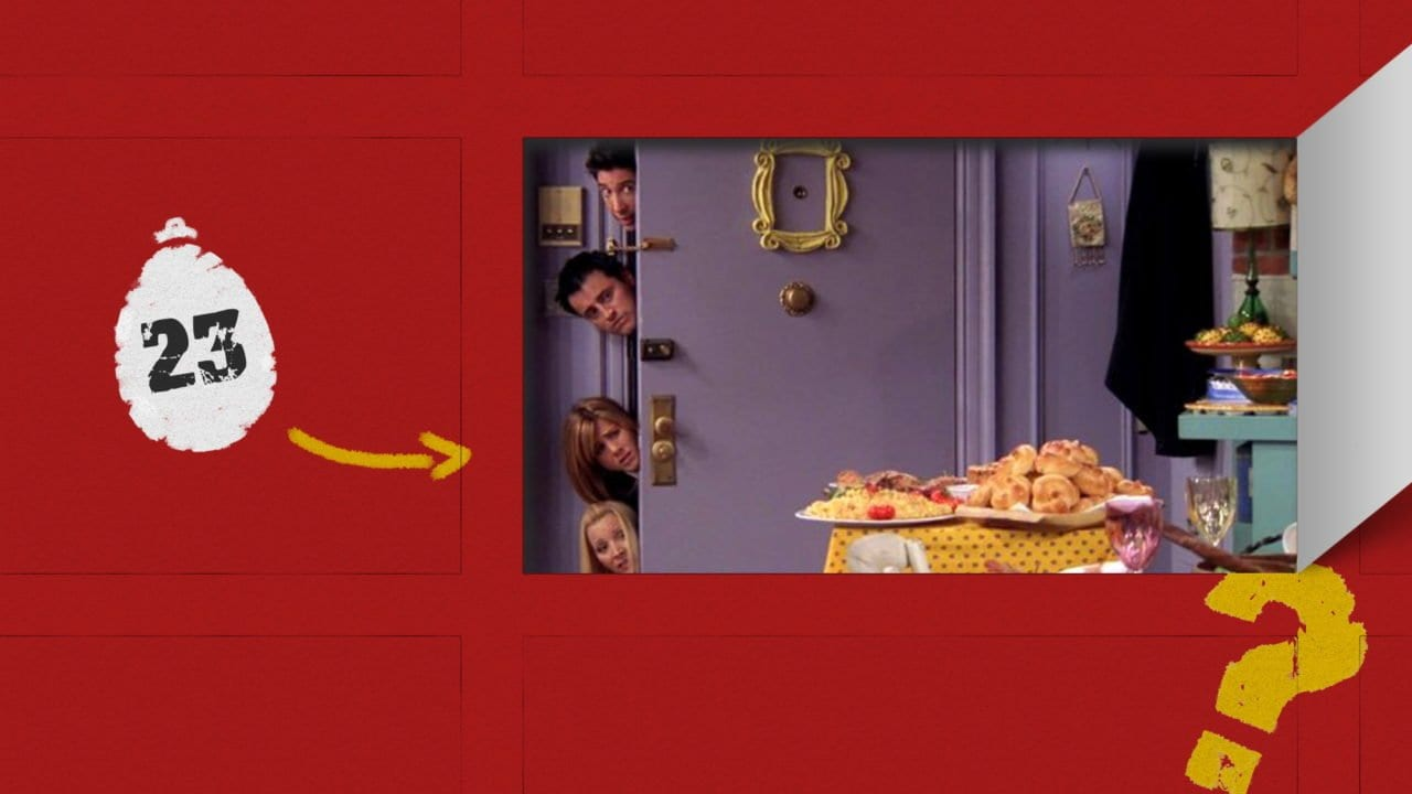 "sAWEntskalender 2019 – Tür 23: die besten Easter Eggs in ""Friends"""