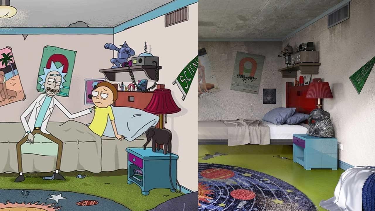 3D-Modelle von Cartoon-Schlafzimmern