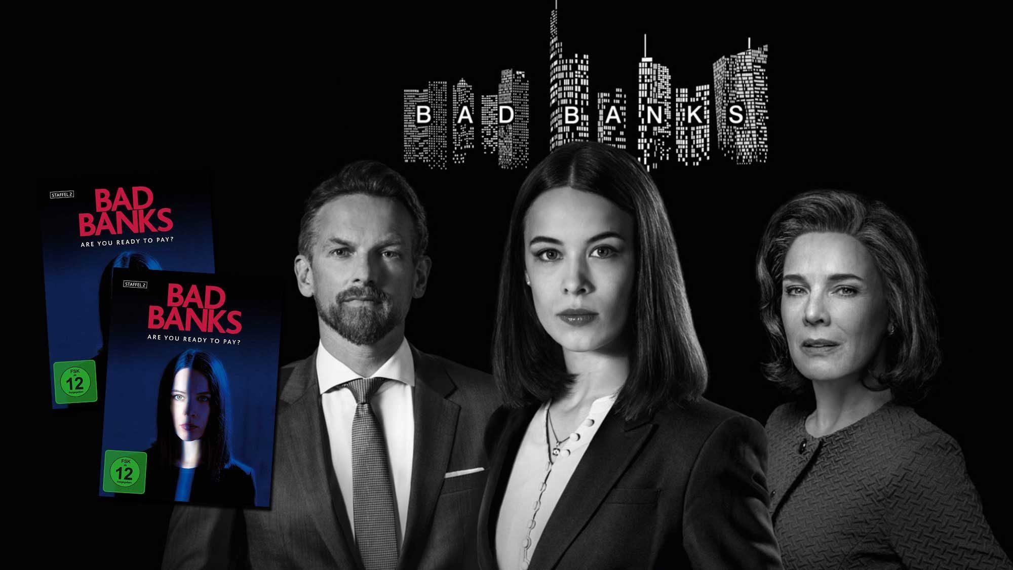 """Wir verlosen die 2. Staffel von """"Bad Banks"""" auf DVD"""