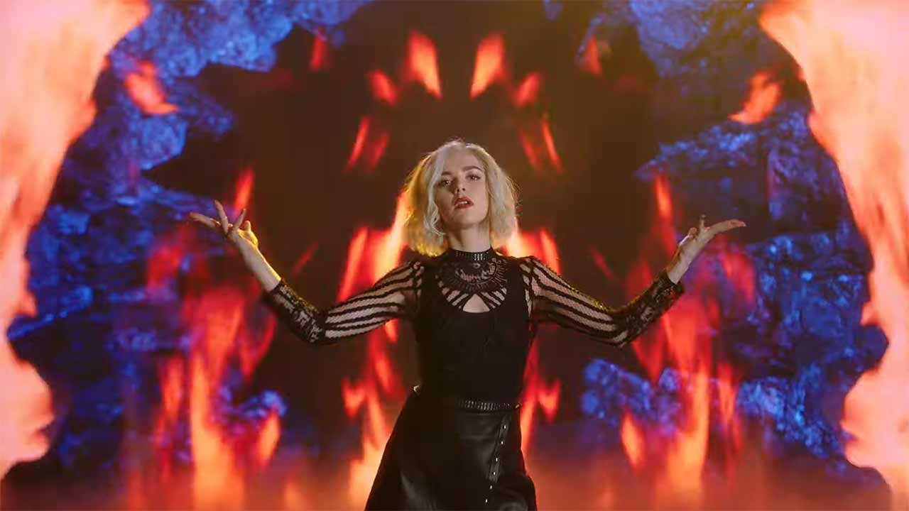chilling adventures of sabrina musikvideo trailer straight to hell promo zur 3 staffel