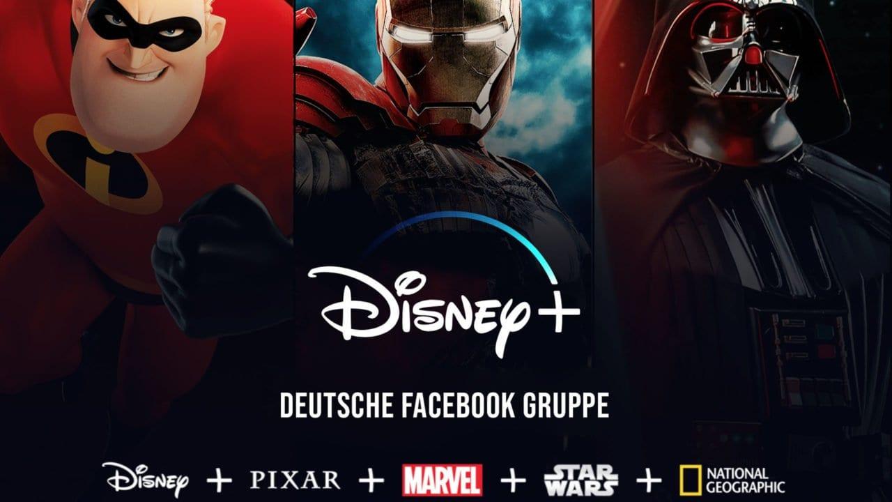 Disney+ in Deutschland – informiert euch auch in unserer Facebook Gruppe