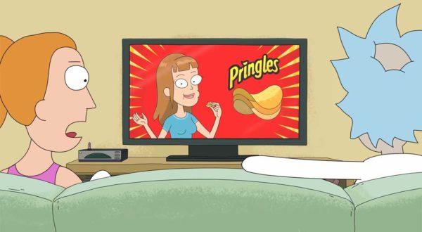 Rick and Morty: Pringles-Werbespot zum Super Bowl 2020
