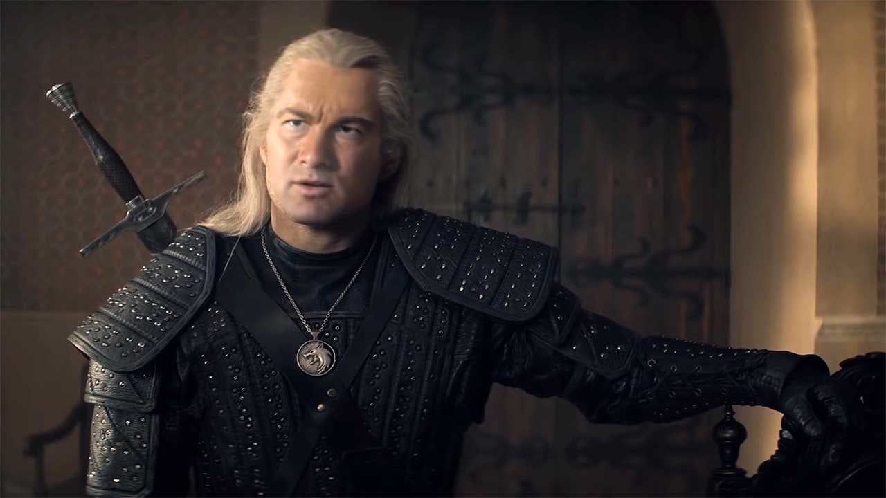 "Steven Seagal als Geralt of Rivia in ""The Witcher"""