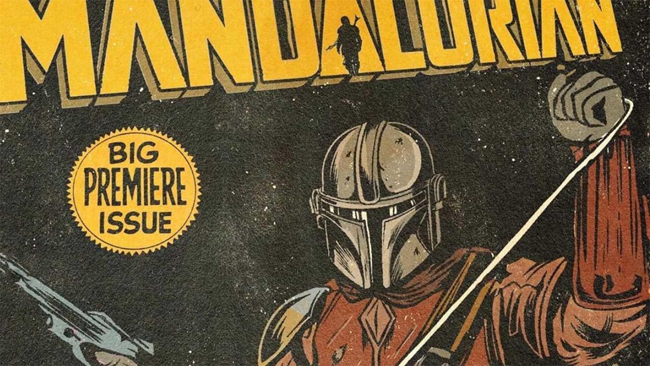 The Mandalorian: ein Vintage-Comic-Cover für jede Folge