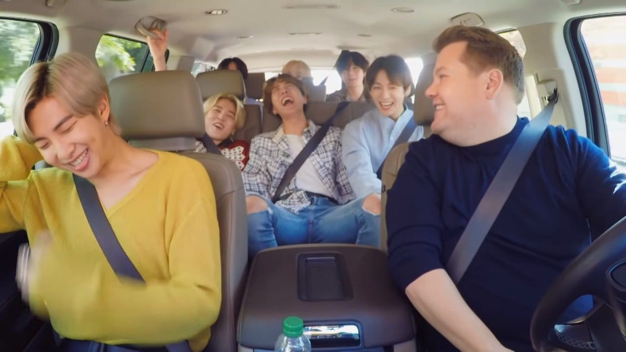 Carpool Karaoke mit BTS