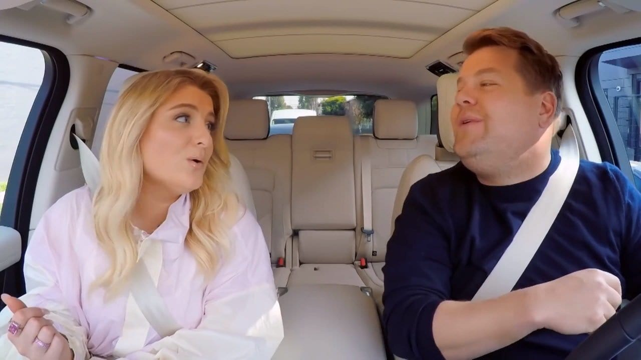 Carpool Karaoke mit Meghan Trainor