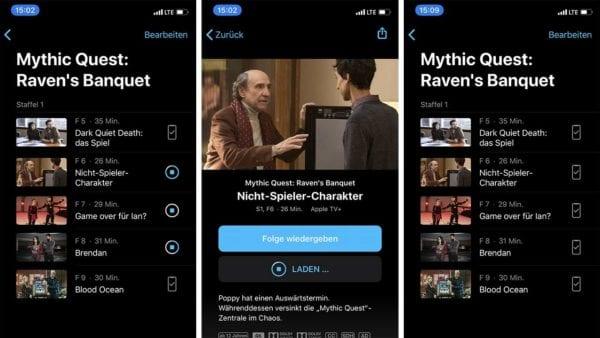 Apple TV+ App: WLAN-Download langsam, mit mobilen Daten (LTE) herunterladen