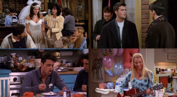 """Eine Sekunde aus jeder Episode """"Friends"""""""
