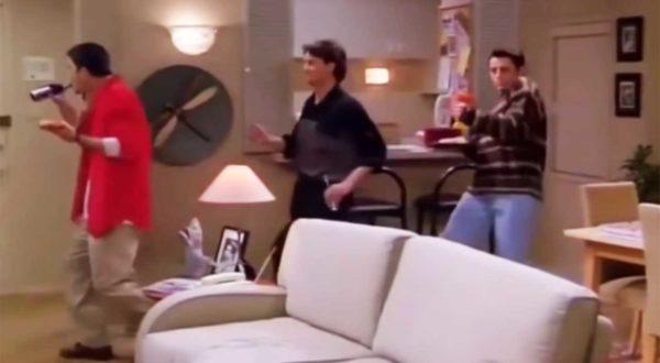 Friends: Chandler, Ross und Joey können einfach zu allem tanzen