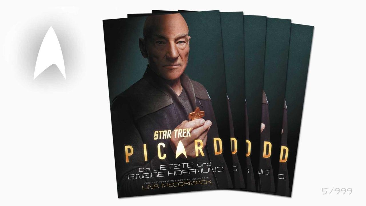 """Gewinnt 5x den limitierten Prequel-Roman """"STAR TREK – PICARD: Die letzte und einzige Hoffnung"""""""