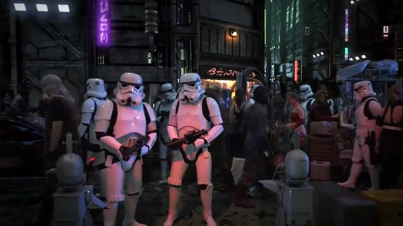"""Aufnahmen aus der nie ausgestrahlten Serie """"Star Wars: Underworld"""""""